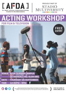 screen acting workshops